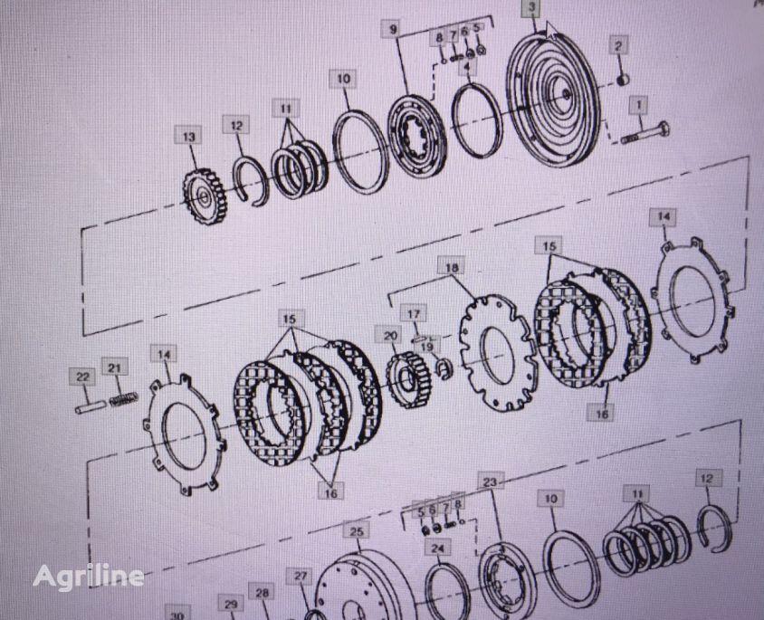 brake drum for JOHN DEERE RE25677/ 4555/4755/4955 tractor