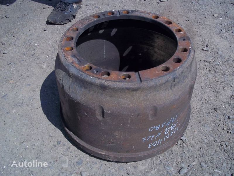 brake drum for MAN F2000 truck