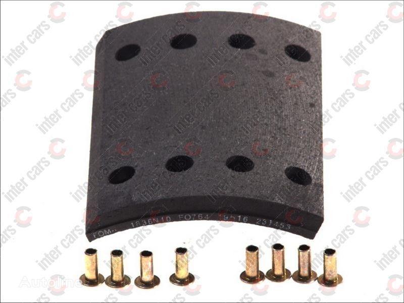 new KASSBOHRER 19574 D300MM,144*200*18/11.5MM FOMAR / ROULUNDS brake pad for KASSBOHRER BPW trailer