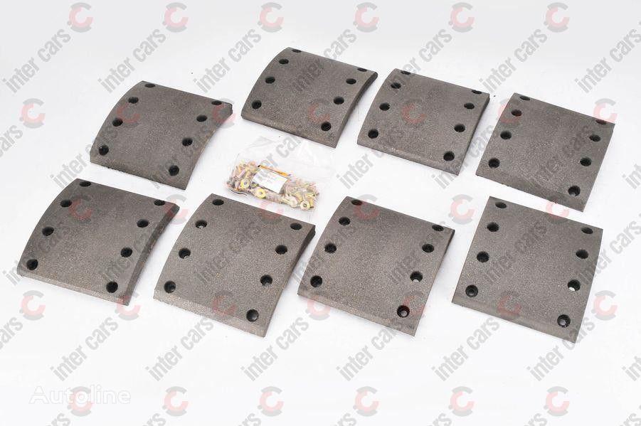 new 19283 D420MM,177/183*178*20.6/17.4/20/13MM (1REM) BERAL (1928321600015416) brake pad for SAF(SKRS9042) trailer