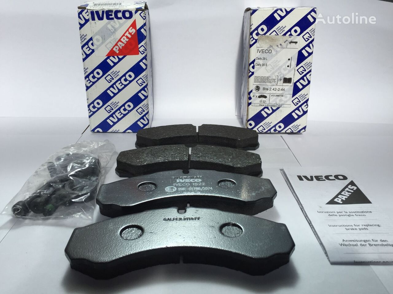 new IVECO BRAK PADS SET brake pad for IVECO DAILY 29/30/35/40/50/65 automobile