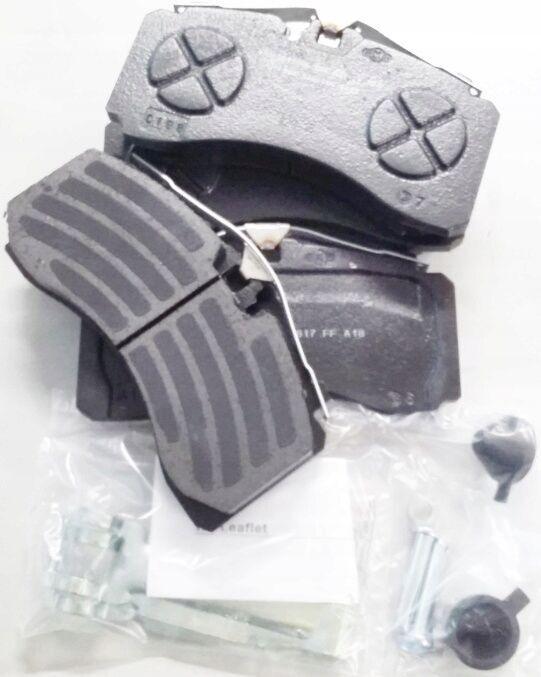 new KNORR-BREMSE brake pad for SAF semi-trailer