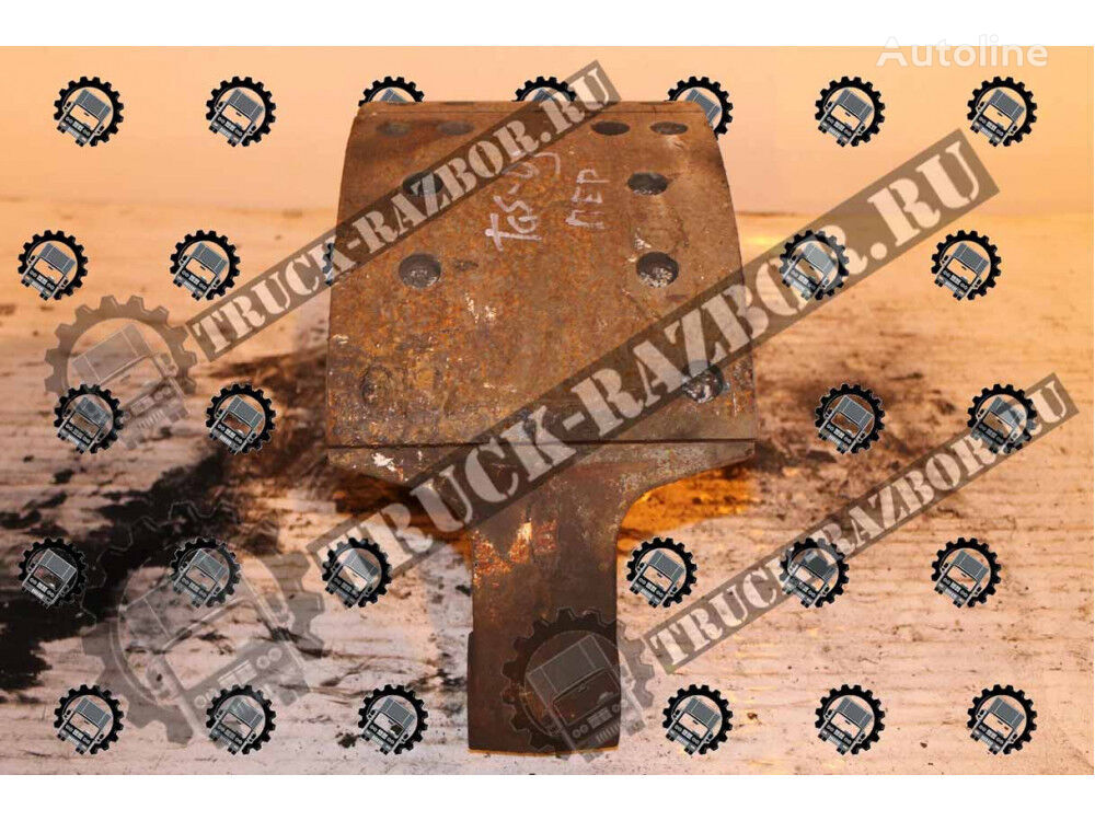 MAN brake pad for MAN TGS 2013g. Pered tractor unit