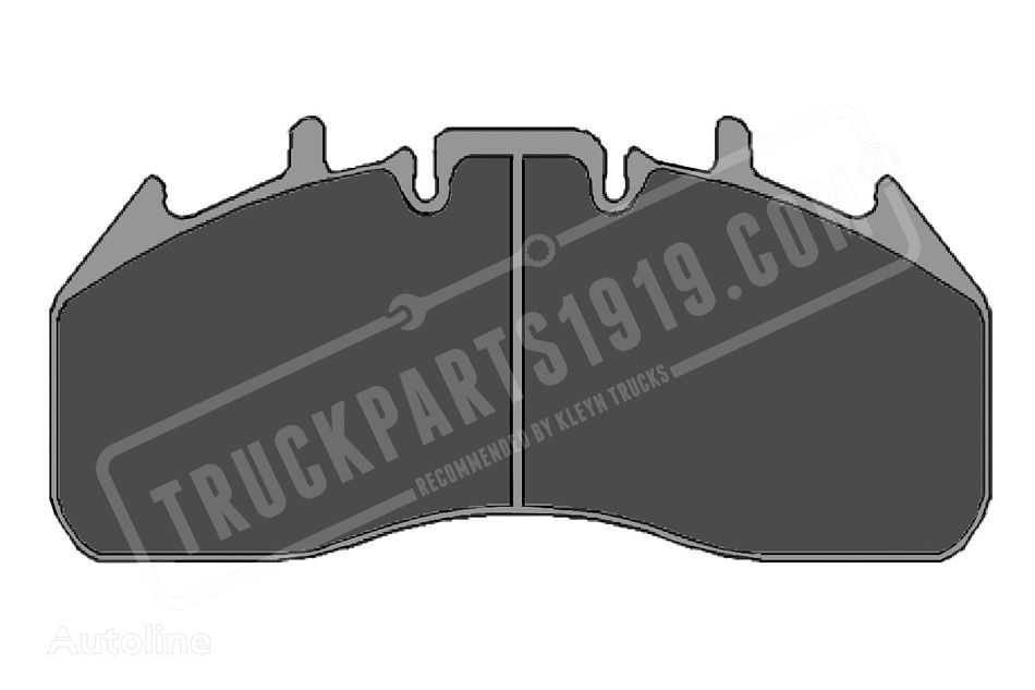 new TRUCKPARTS1919 brake pad for truck