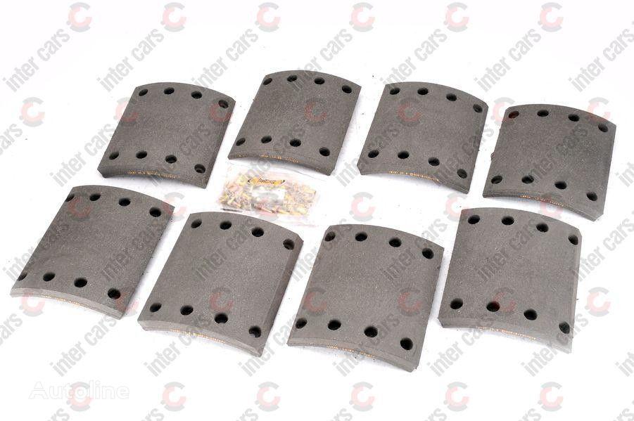 New 19490,19491 367X200MM SAF SKRS9037 FOMAR / ROULUNDS brake pads for  trailer