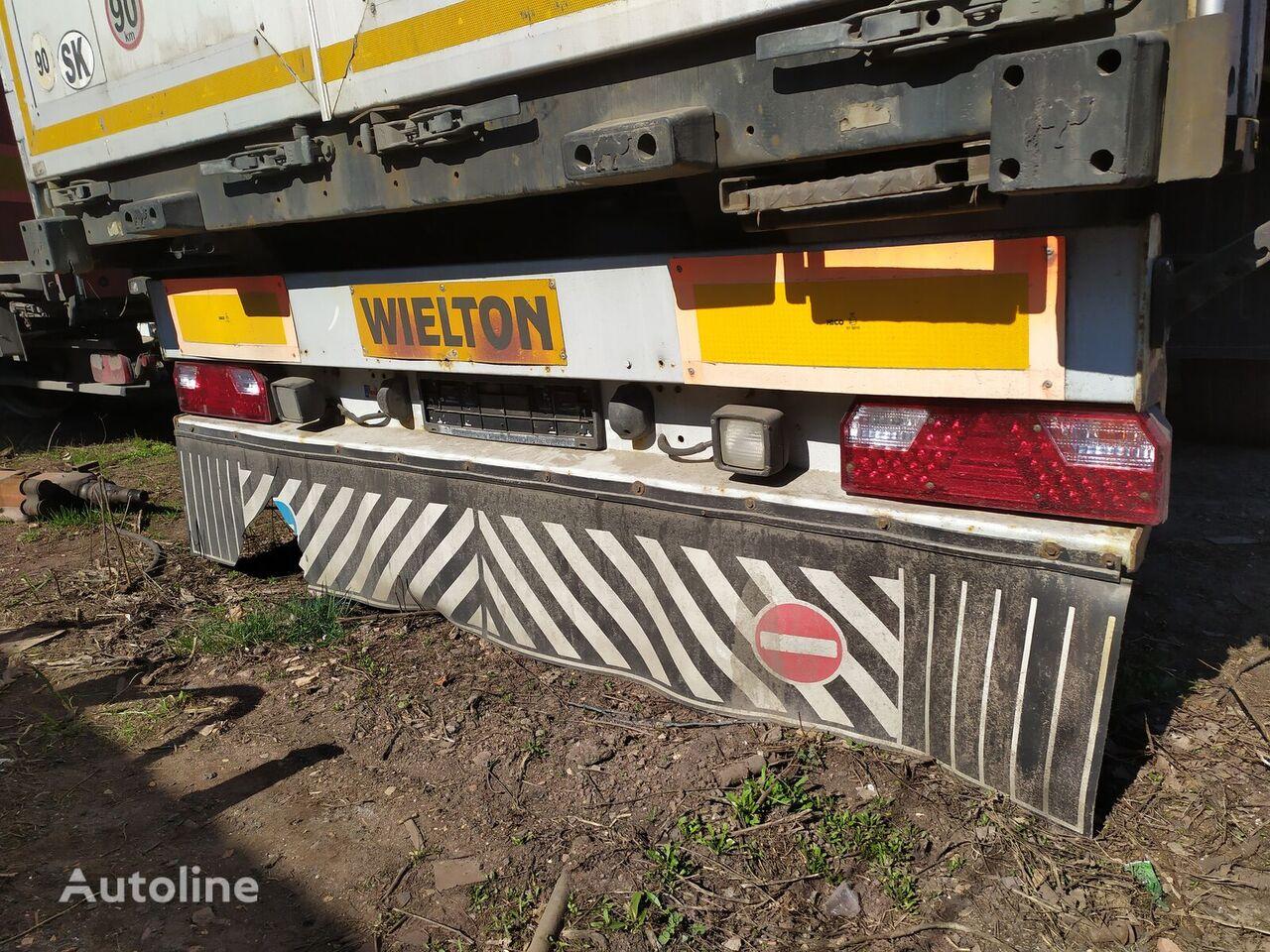 bumper for semi-trailer