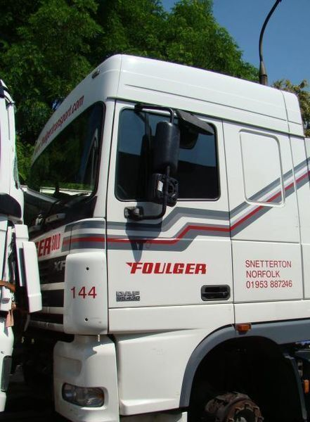 cab for DAF XF95 truck