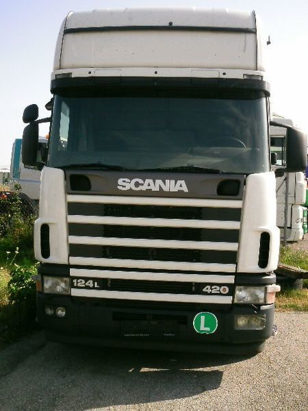 cab for SCANIA 124 truck