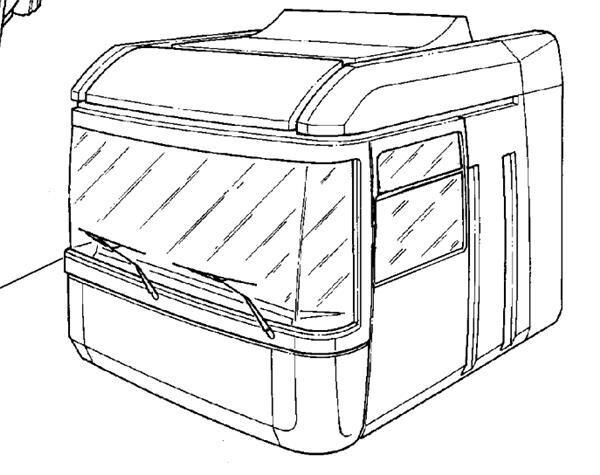 cabin for RENAULT Magnum E.TECH 440.18T tractor unit