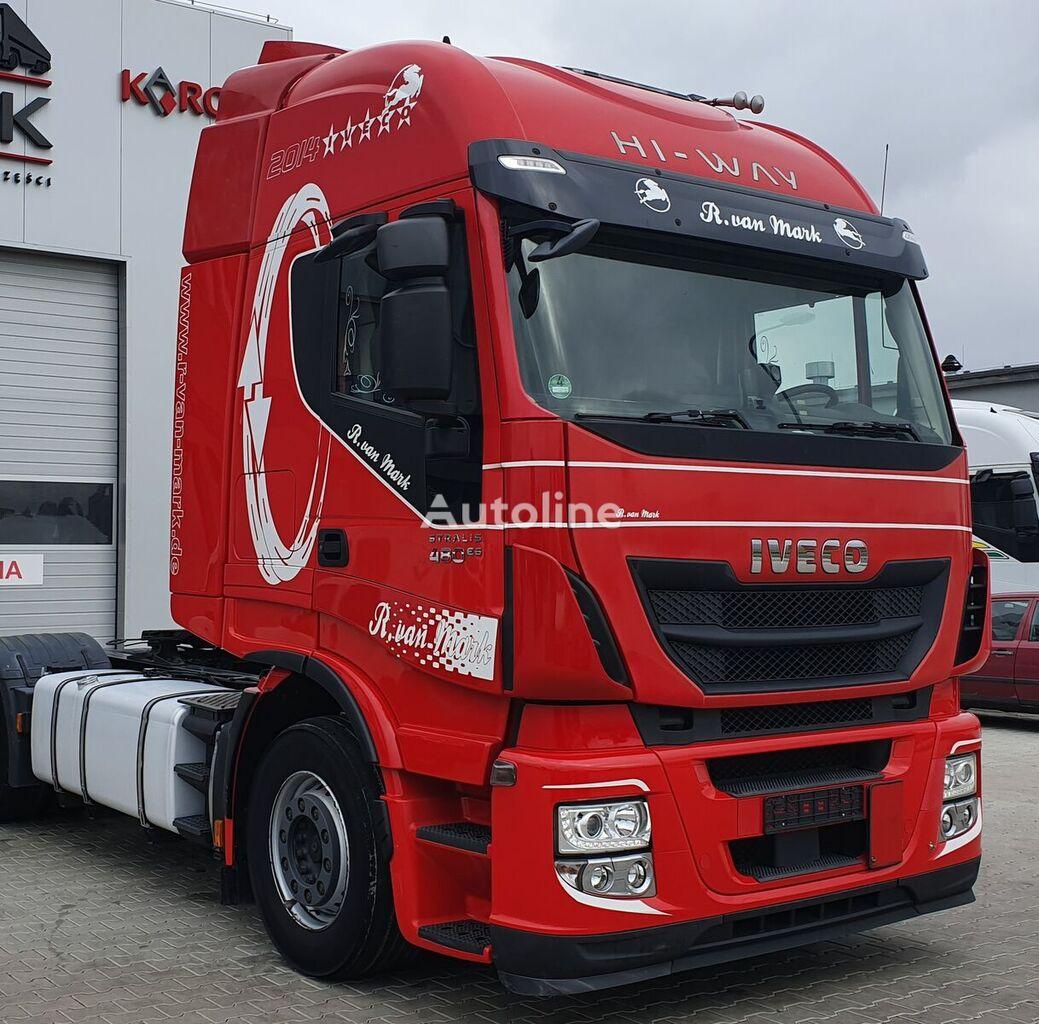 IVECO AUTOMAT, RETARDER - M cabin for IVECO STRALIS HI-WAY tractor unit