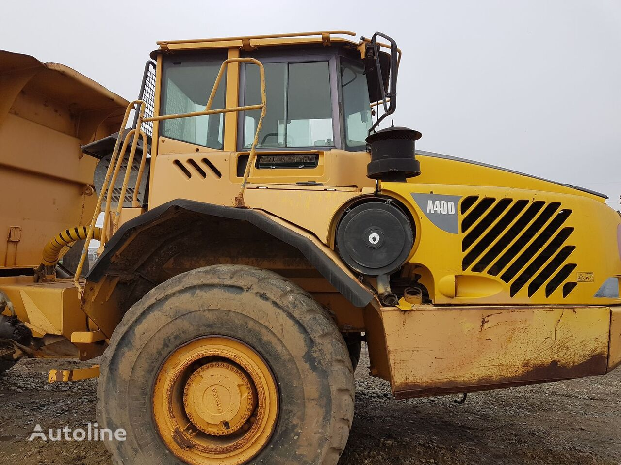 VOLVO cabin for VOLVO A40 articulated dump truck