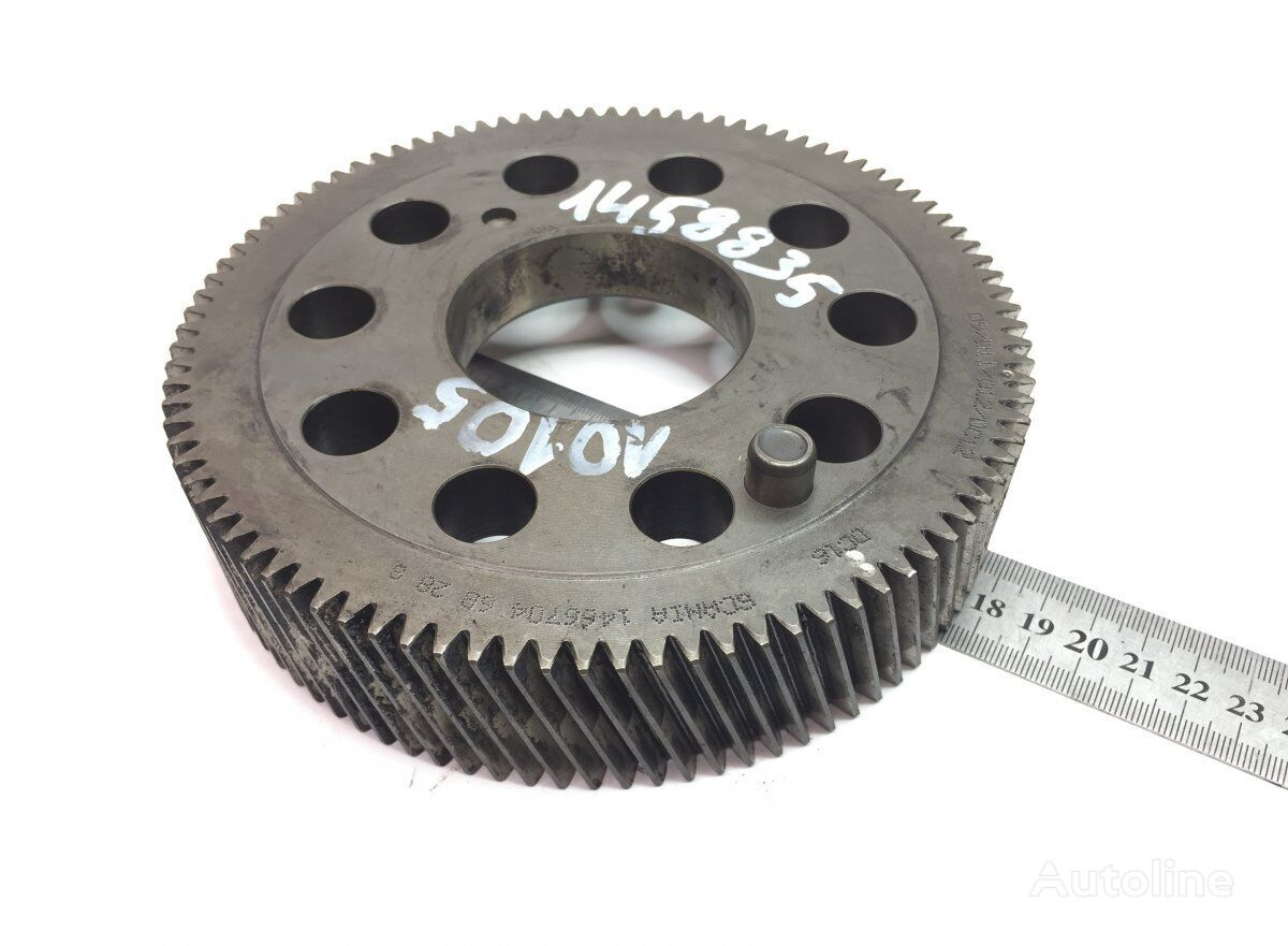 SCANIA K-series (01.06-) (1466704 2145527) camshaft gear for SCANIA P G R T-series (2004-) tractor unit