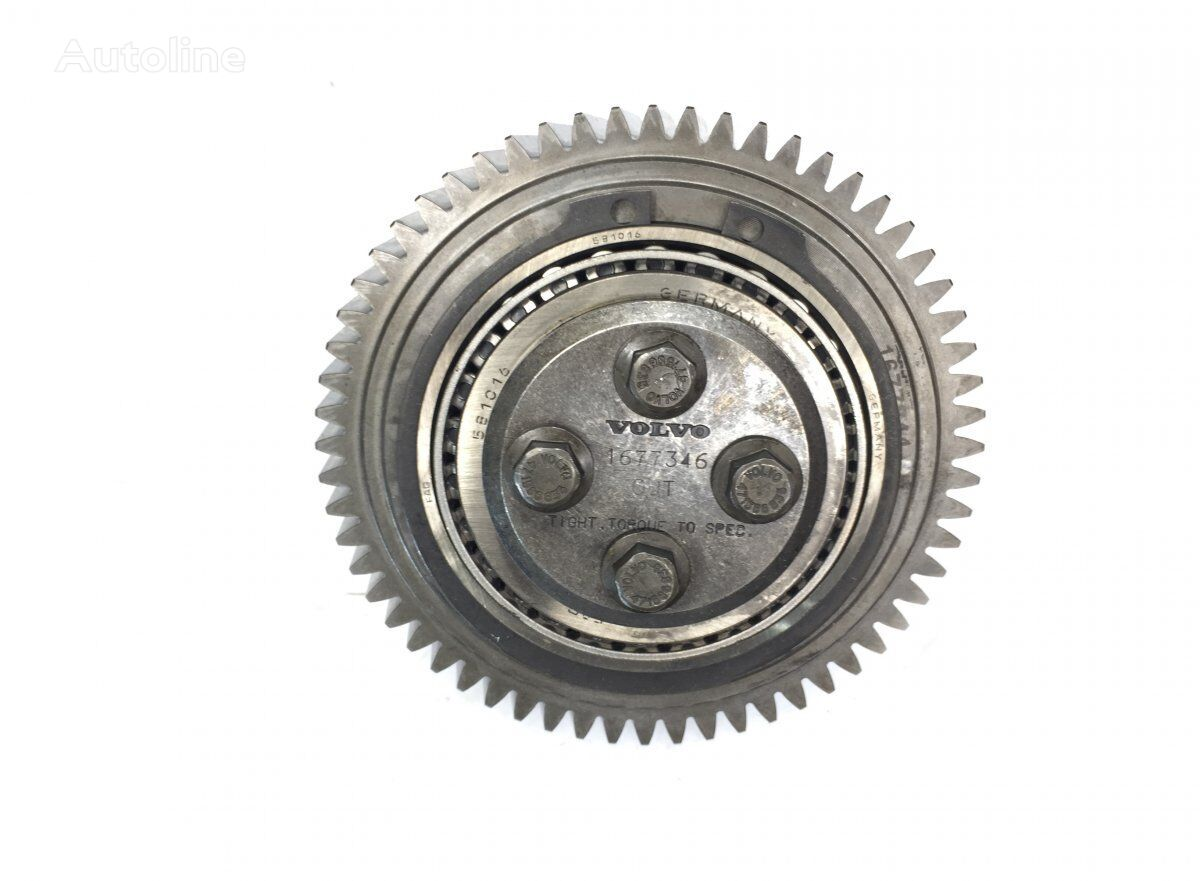 VOLVO Intermediate Gear (1677346 1677844) camshaft gear for VOLVO FH12/FH16/NH12 1-serie (1993-2002) tractor unit