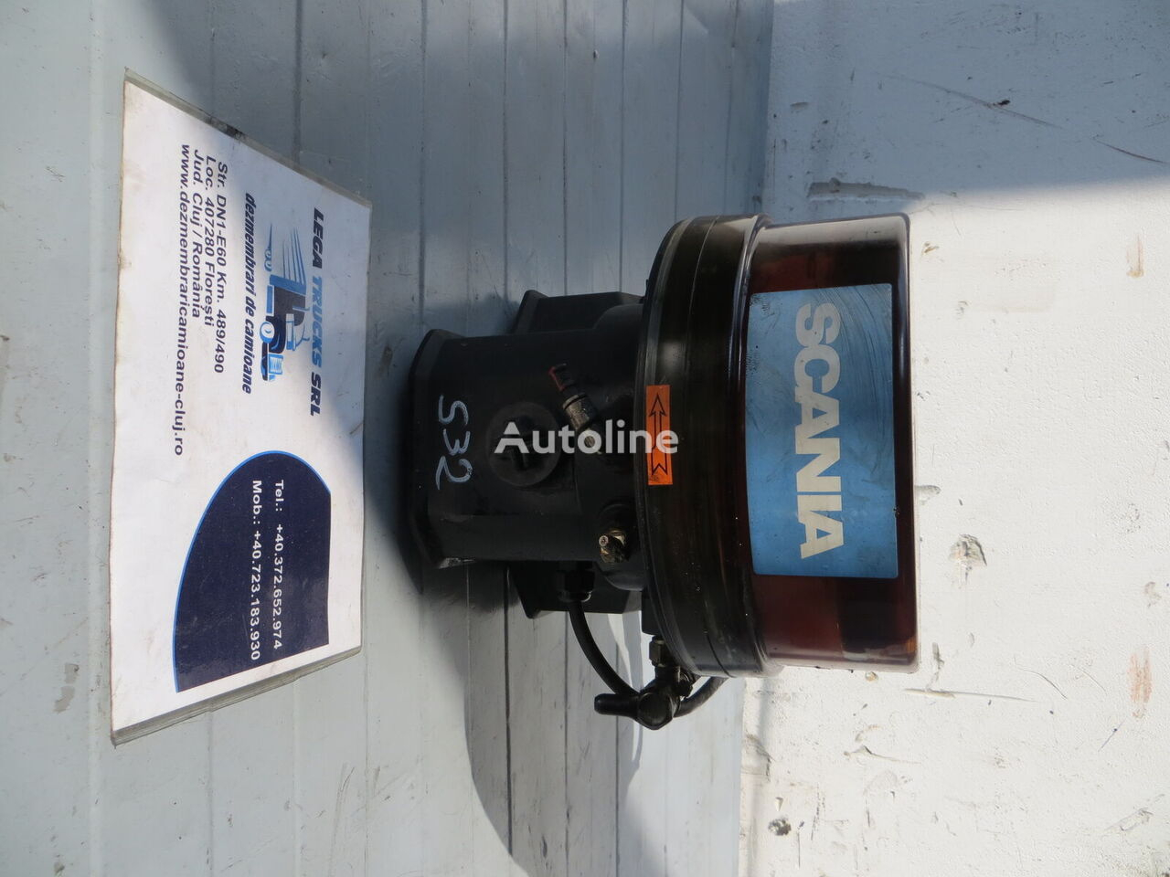 SCANIA central lubrication for SCANIA tractor unit