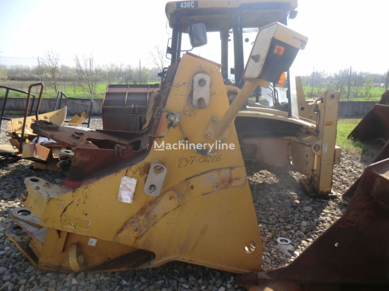 FRONT FRAME N4A00198 chassis for CATERPILLAR 962H  wheel loader
