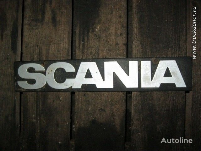 Logotip Scania chassis for SCANIA truck