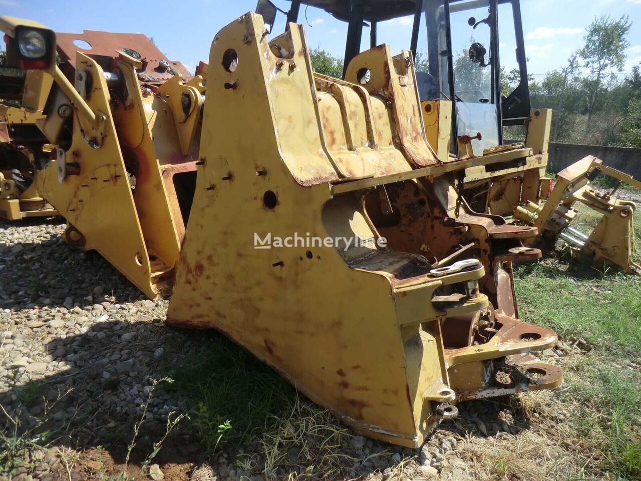 front frame chassis for CATERPILLAR 966F II 1sl2921 wheel loader