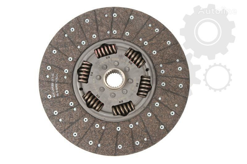 new VOLVO SACHS clutch plate for VOLVO  9700, 9900, B 9, FH 12, FM, FM 12, FM 9, NH 12 08.93- truck