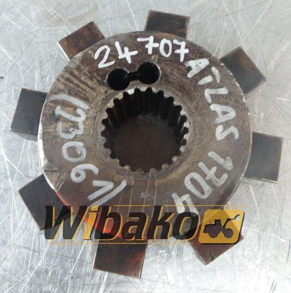 ATLAS clutch for excavator