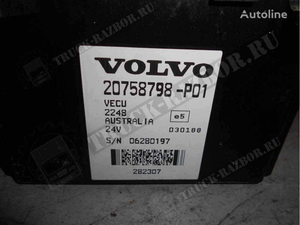 (20758798) control unit for VOLVO tractor unit
