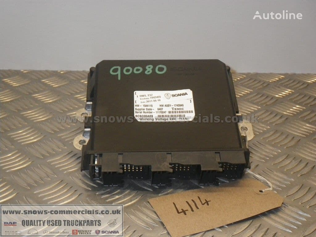 control unit for SCANIA P360 G420 truck