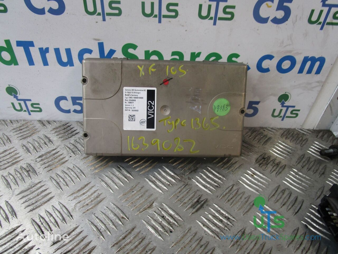 control unit for DAF XF 105 truck