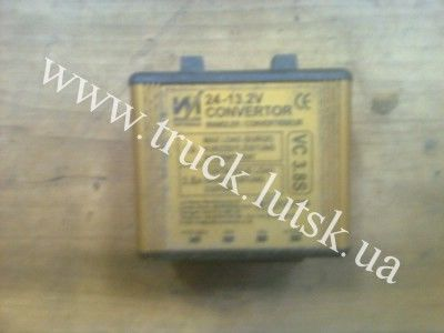 Conventor control unit for truck
