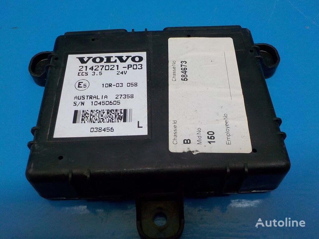Blok elektronnyy Vovlo control unit for truck