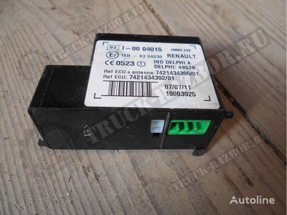 control unit for RENAULT EBS tractor unit