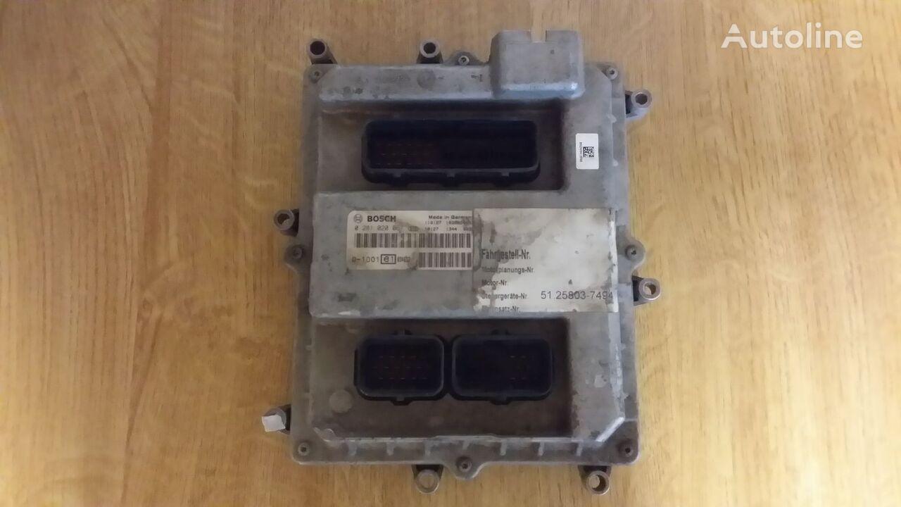 BOSCH EDC (0281020067) control unit for MAN TGA,TGX,TGS tractor unit