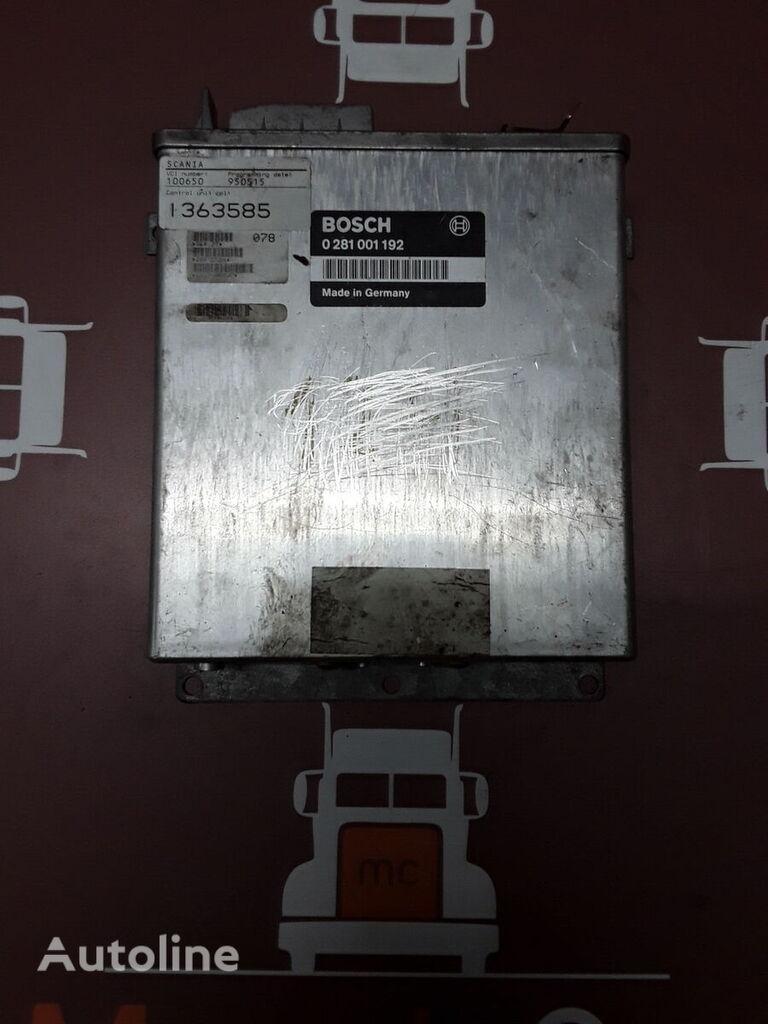 BOSCH Scania 0281001192 , 1363585 control unit for truck