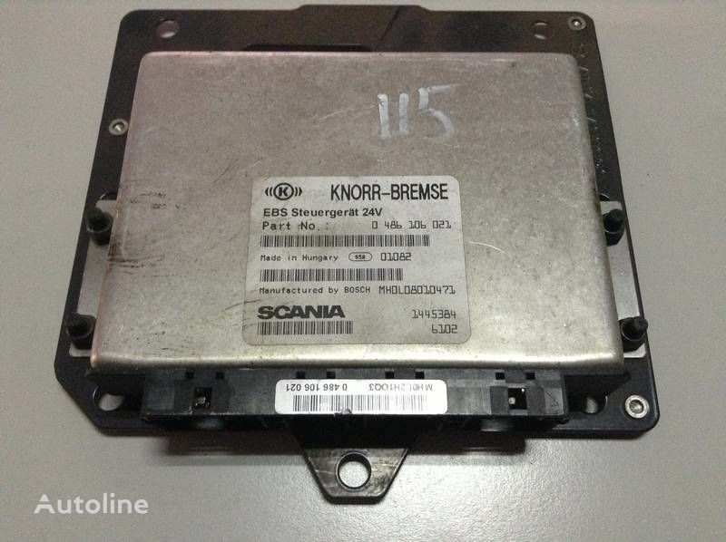 KNORR-BREMSE (0 486 106 021) control unit for SCANIA 124L tractor unit