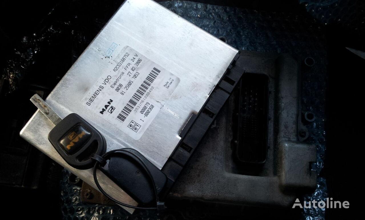 MAN TGA, TGX ignition set >>>>> BOSCH 0281010255 + FFR + chip key, E control unit for MAN TGA tractor unit