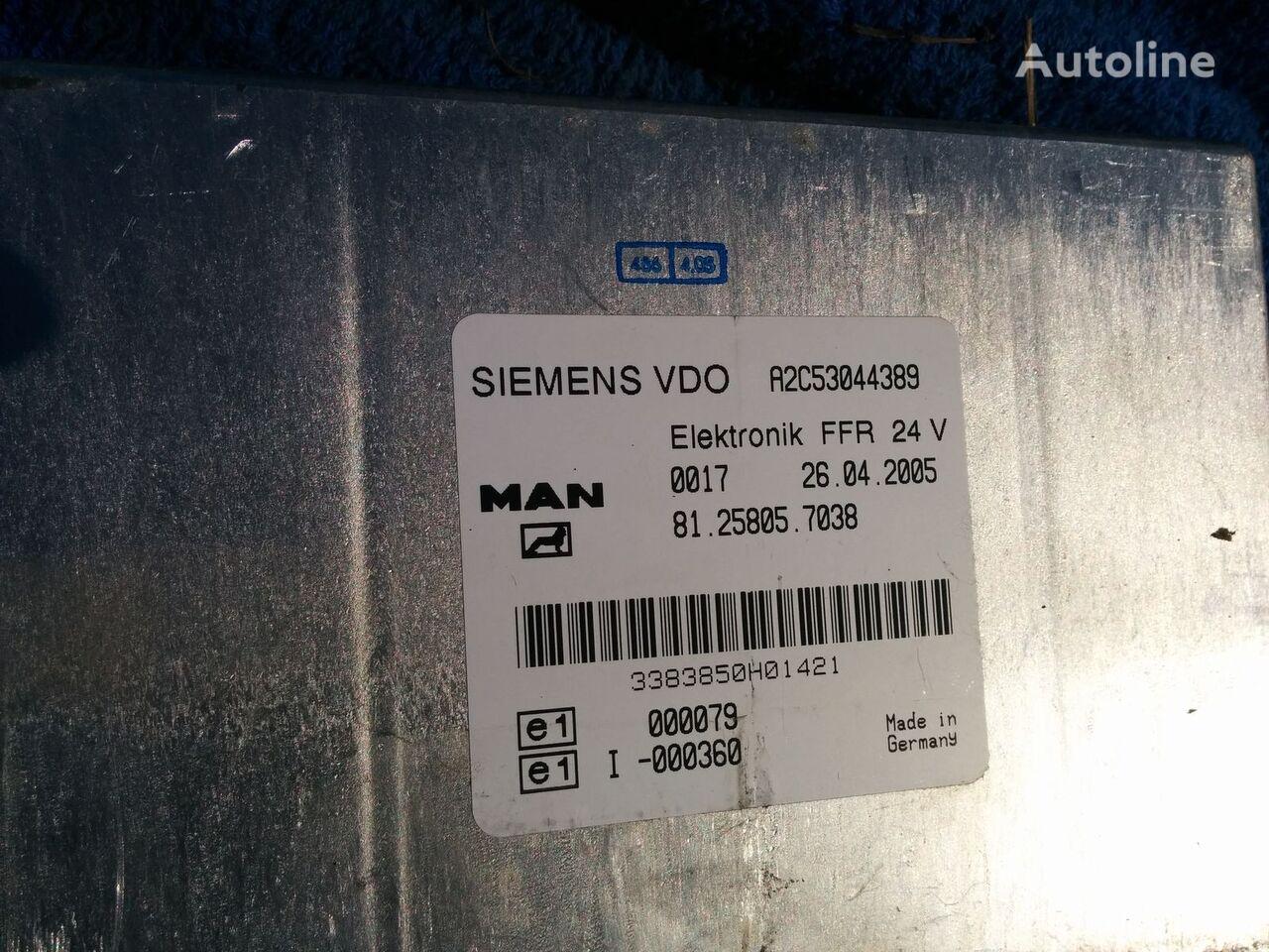 MAN VDO A2C53044389 . 81.25805.7038 .412.413.1.2. control unit for MAN citi bus