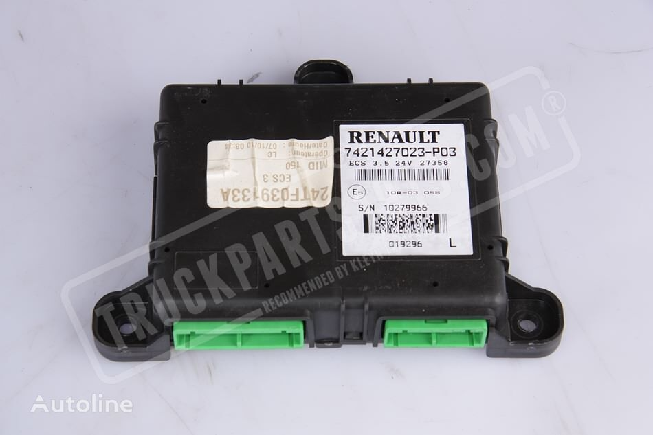 RENAULT (20890176) control unit for tractor unit