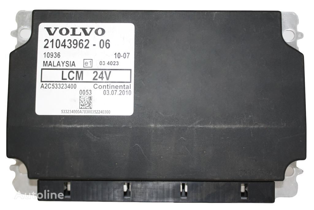VOLVO LCM šviesos (21043962 -06) control unit for VOLVO FH13 tractor unit