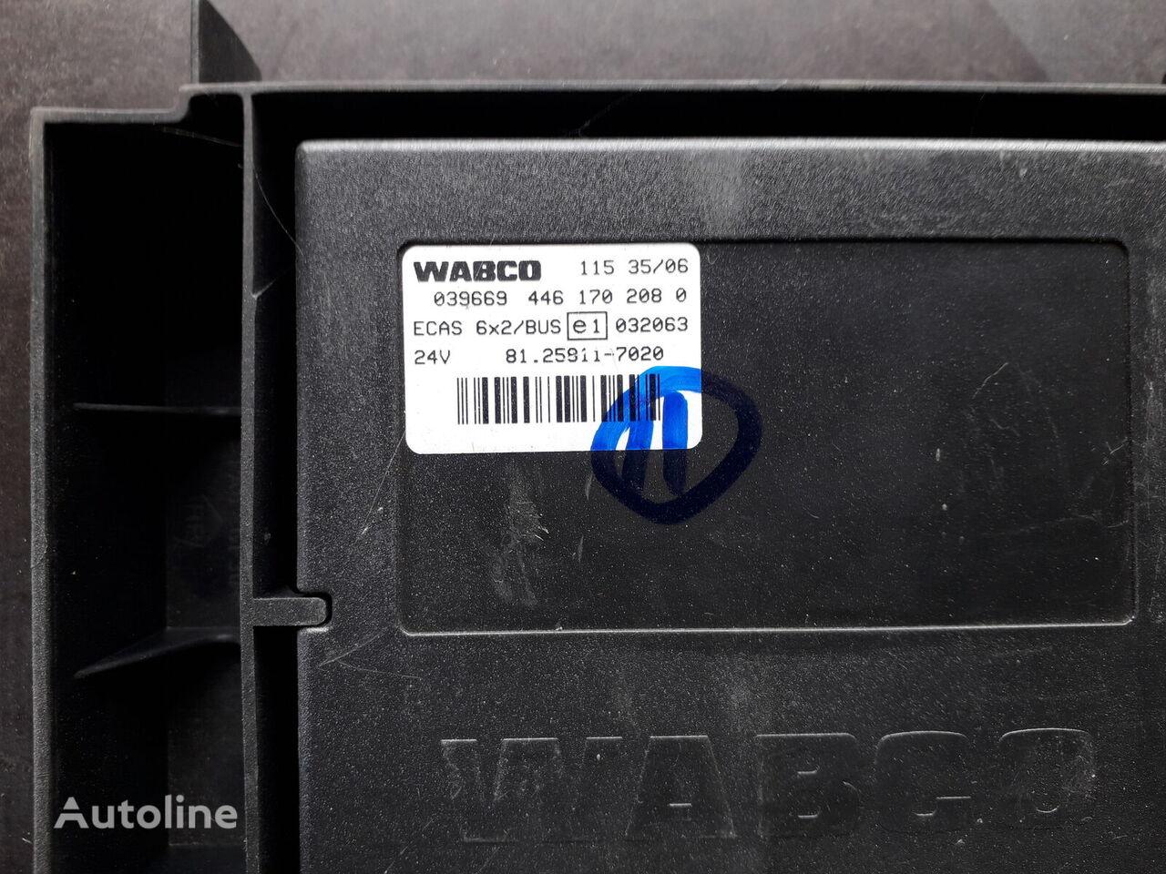 WABCO pidviskoyu 6 h 2 (81.25811.7020) control unit for MAN TGA 26.430 tractor unit