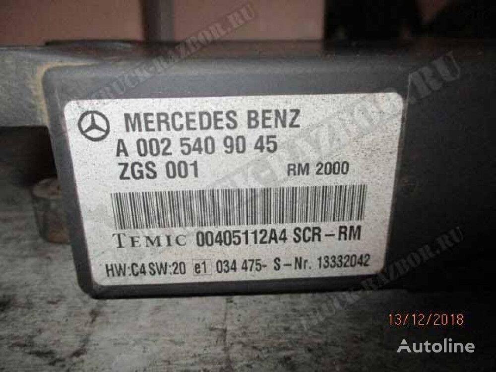 blok SCR (0025409045) control unit for MERCEDES-BENZ tractor unit