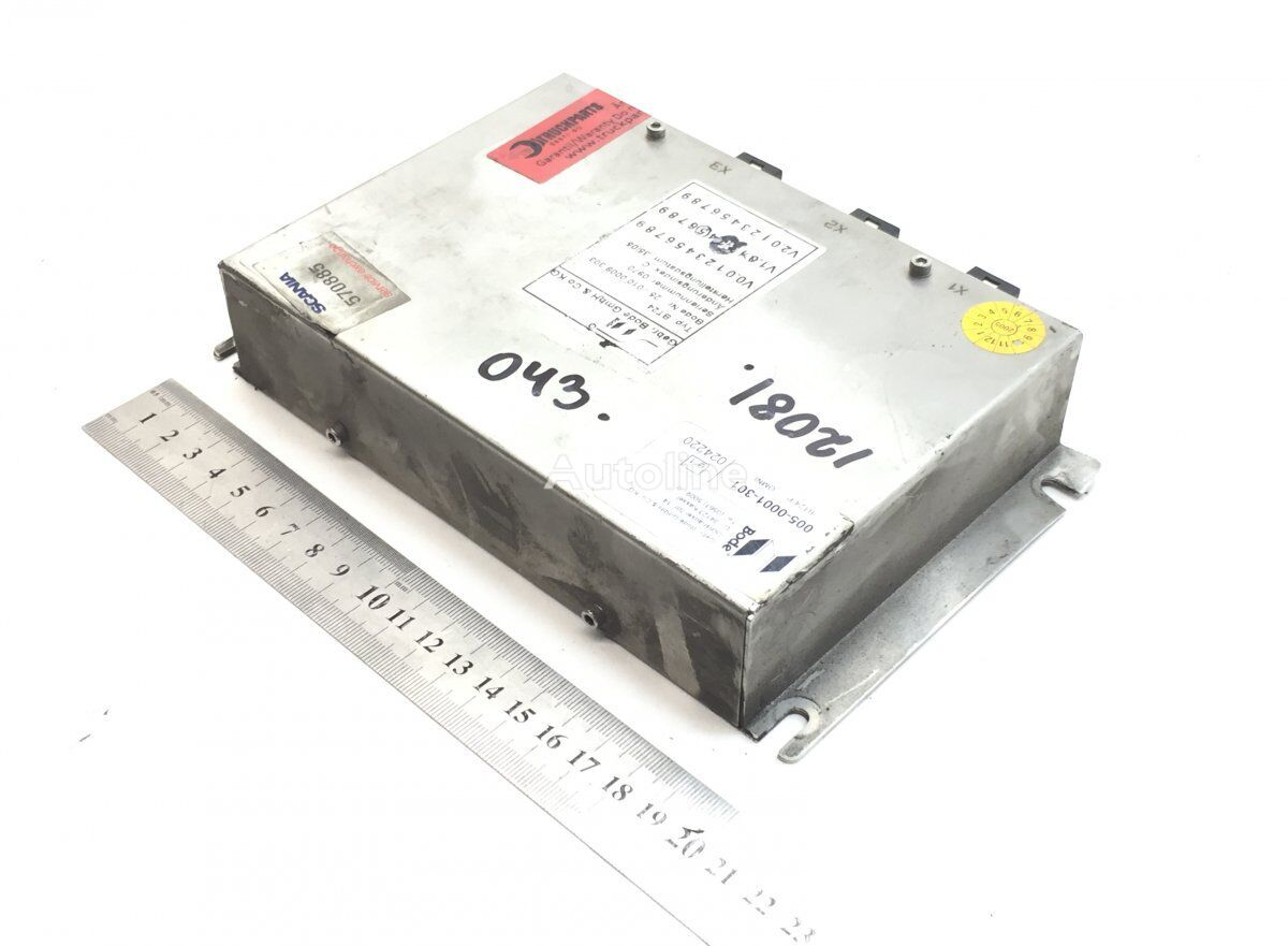 BODE K-series (01.06-) control unit for SCANIA K N F-series bus (2005-) bus