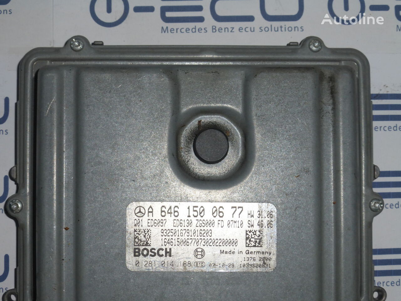 BOSCH A6461500677 control unit for MERCEDES-BENZ VITO 639 automobile