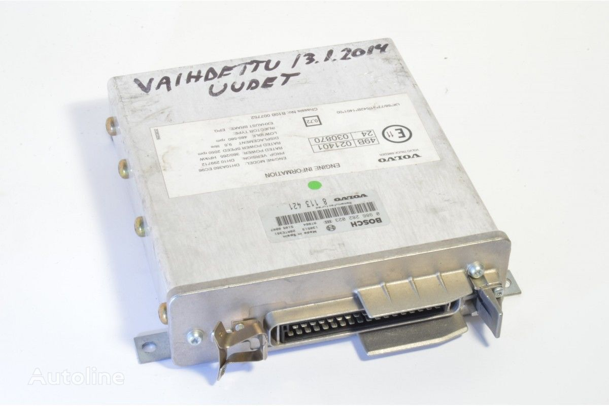 BOSCH ECU 021401, 030870 control unit for VOLVO truck