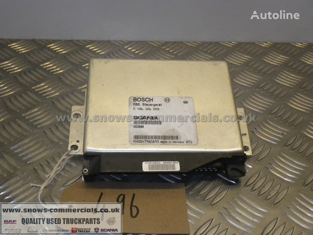 BOSCH ECU Scania control unit for truck