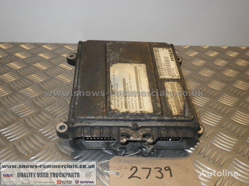 BOSCH Engine ECU 504078154 control unit for IVECO truck