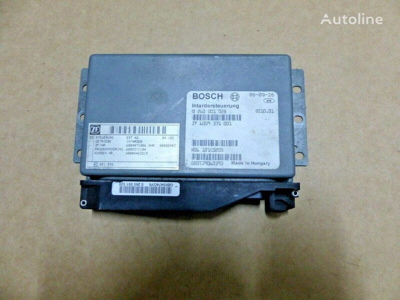 BOSCH Intardersteuerung ZF control unit for IVECO truck