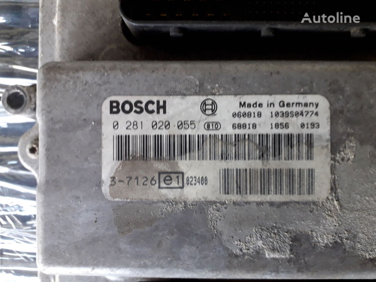 BOSCH Dvigun D2066 control unit for MAN TGA tractor unit