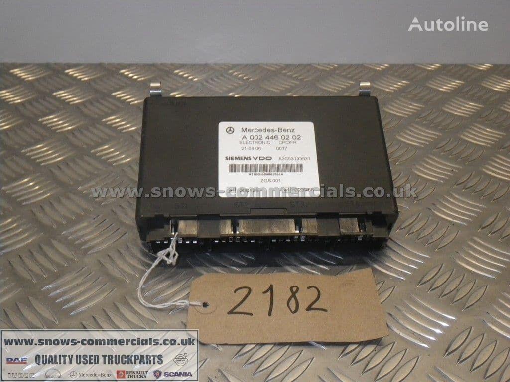 CPC/FR ECU A0024460202 control unit for MERCEDES-BENZ truck