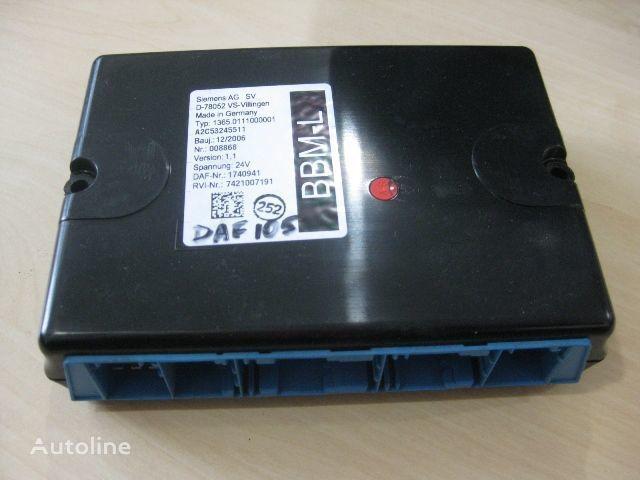 DAF 1365.0111000001 control unit for DAF truck