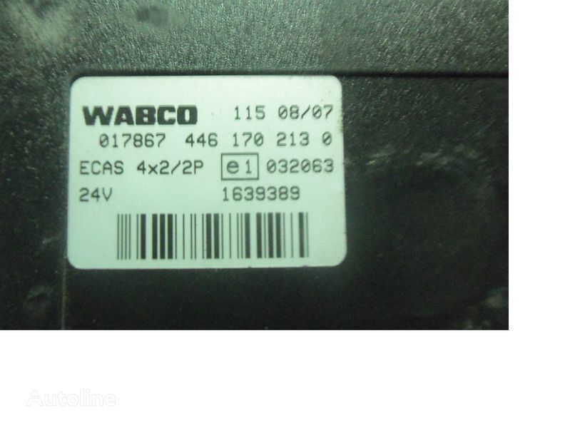 DAF 105 XF, ECAS electric control unit 1639389; 1657855, 1657854, 16 control unit for DAF 105XF tractor unit