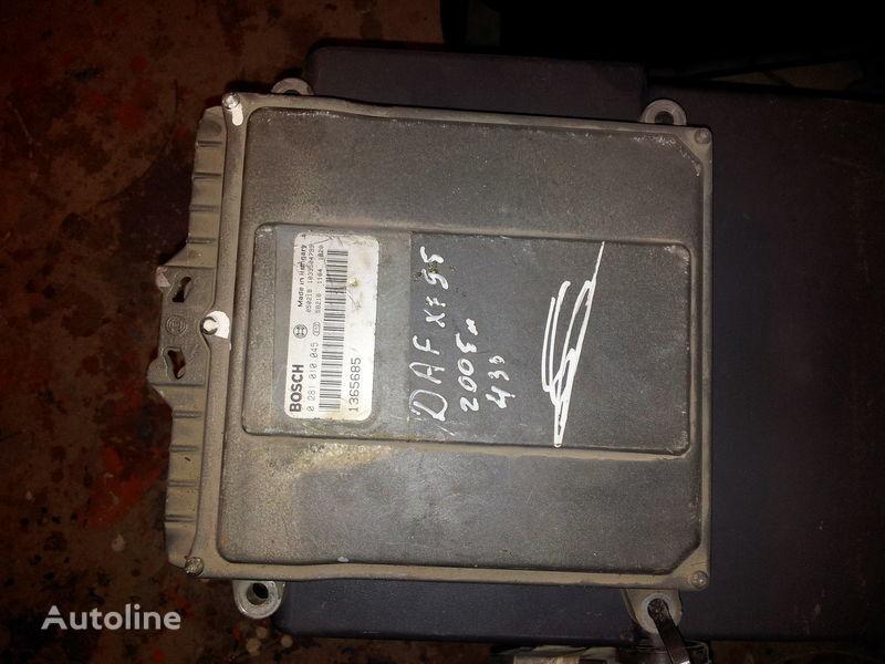 DAF 95XF, 85LF, 75LF, EURO3 ECU EDC engine control BOSH 0281010045; 1365685, 1684367, 1679021 control unit for DAF 95XF tractor unit
