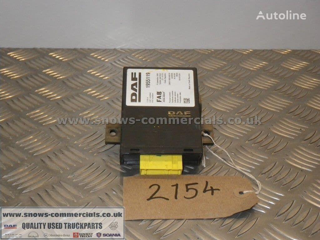 DAF CDS-4 ECU control unit for DAF  CF Euro 6  truck